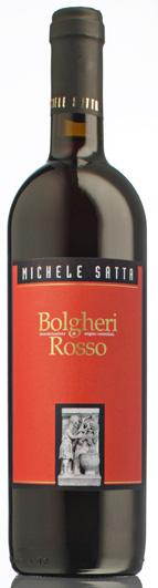 Michele Satta D.O.C. Bolgheri Rosso, Cabernet/Sangiovese/Merlot/Syrah/Teroldego