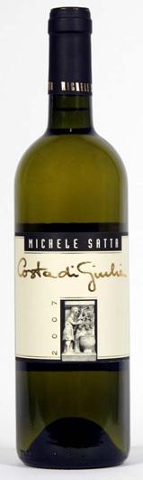 """Michele Satta, D.O.C. Bolgheri Bianco, Vermentino/Sauvignon (Demi) """"Costa di Giulia"""""""