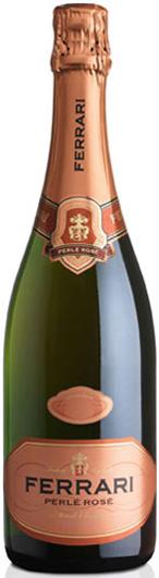 "Cantine Ferrari D.O.C. Trento, Spumante Brut ""Perlé Rosé"", Pinot Noir/Chardonnay- Sparkling Rosé"