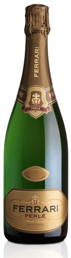 """Cantine Ferrari D.O.C. Trento, Spumante Brut """"Perlé"""", Chardonnay"""