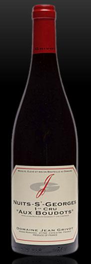 """Domaine Jean Grivot, Nuits-St. Georges Premier Cru """"Les Boudouts"""""""