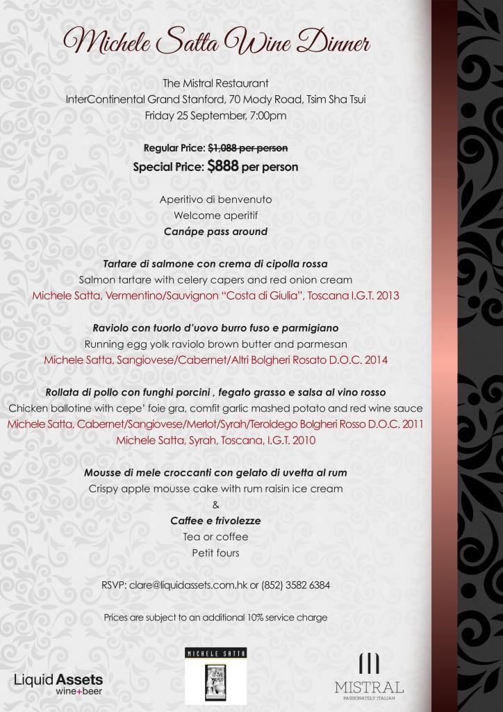 Michele Satta Dinner @ Mistral EDM v1.2